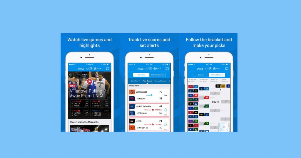 CBS Sports NCAA March Madness on Demand – iPhone App Review